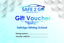 Bishop Auckland driving lessons gift voucher