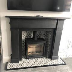Cast iron fireplace surrounds on sale