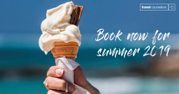 Book now for 2019