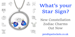 Constellation Floating Charms for Living Lockets