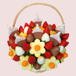 Cupcake Fruit Bouquet - Fruity Arrangements