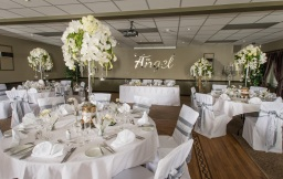 Wedding Venue Flowers by Flower Design, Ripon