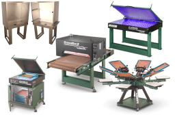 Suppliers of screen printing equipment | Dalesway