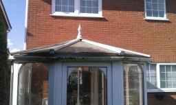 Old lady considered having it removed , conservatory saving .