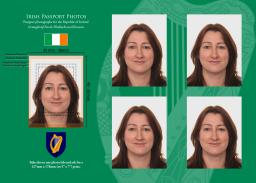 Irish Passport photos