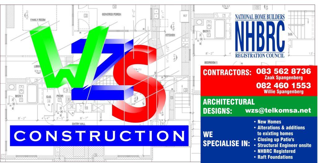 WZS CONSTRUCTION PRETORIA 188 EDWARD STREET ZWARTKOP CENTURION