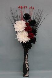 Artificial Black Flowers