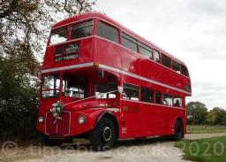 Open Platform Routemaster wedding bus