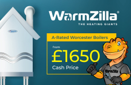 Boiler from £1650 fitted