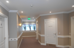 Commercial painting of care homes