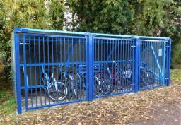 Secure Bike Storage Shelter, Donfabs & Consillia