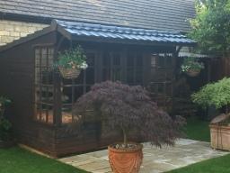 Lightweight Tiles Budget roof tiles on Summerhouse