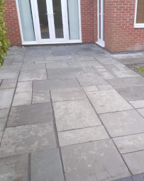 Indian stone flagging services in Widnes