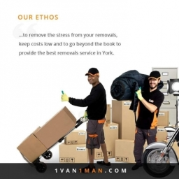 Book 1 Van 1 Man  Removals for a Stress-free Relocation