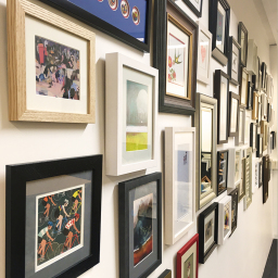 Picture Framing Wall Art
