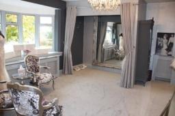 Upstairs Dressing Room at TDR Bridal