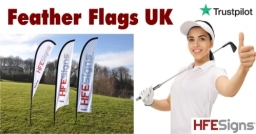 Feather Flags  Sail Banners - Rapid UK Delivery