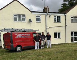 Team painters at Lincoln Lincolnshire