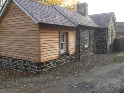 Complete refurb of Grade II listed gate house