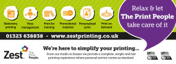Zest, The Print People - what we do