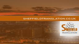 Sheffield Translation Services Marketing 2021