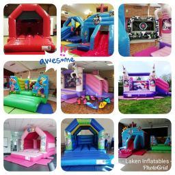 Laken Inflatables Bouncy Castle hire