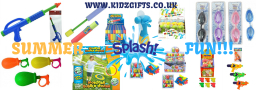 Large range of water toys for kids
