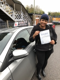 Passed 1st time in Morden