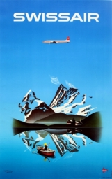 Swissair by Herbert Leupin - www.antikbar.co.uk