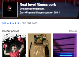 Next Level Fitness Cork Facebook