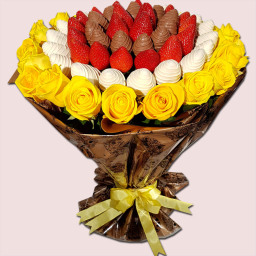 Sunshine Fruity Flower Bouquet