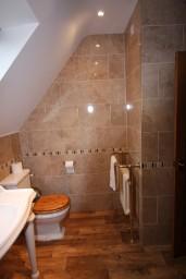 Ceramic Wall Tiling, Bathroom, Holywell Lake.