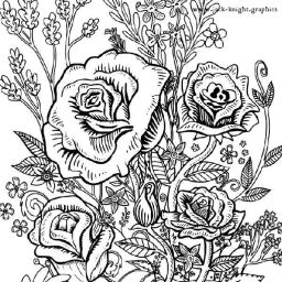 Intricate Colouring In Designs