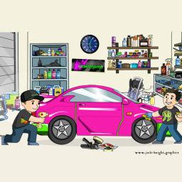 Waxamomo search page illustration.