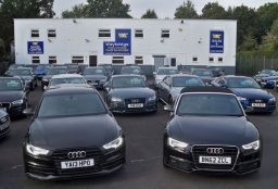 Over 40 Audi Vehicles in Stock