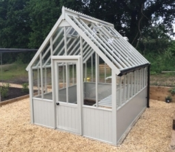 Cotswold 8x10 Victorian Greenhouse With Painted Finish