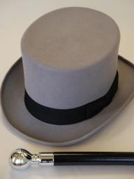 Ascot Top Hat Cane
