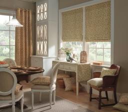 Roman Blinds, Curtains, BOS Interiors, Somerset