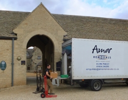 Removal from Sulgrave Manor - Northamptonshire
