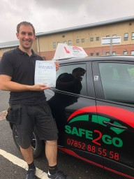 Safe2go driving School passed driving test