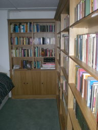 Hand made fitted bookcases