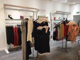 Inside Posche Store in the COunty Mall, Crawley