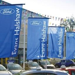 Automotive Forecourt Flags