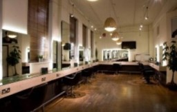Main salon cutting area