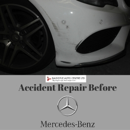 Mercedes E Class Before