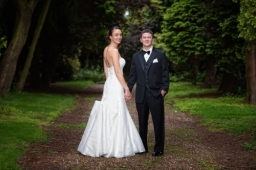 Georgia and Scott [Woodborough Hall]