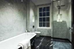 Decoration of bathroom- tiling service
