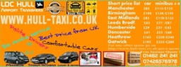 Airport Taxi - Airport Minibus Service Hull