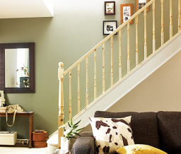 Hallmark pine stair balustrade