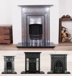 selection of bedroom combination fireplaces
